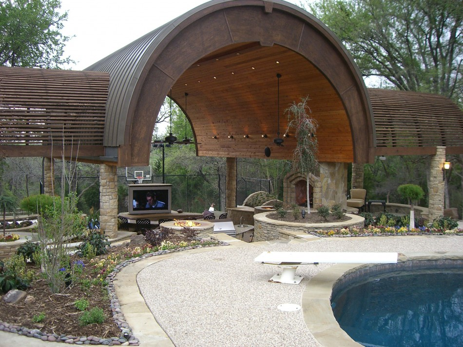 designed outdoor living by thomas burkhardt ? dallas outdoor patio ... - Outdoor Patio Design